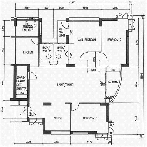 singapore hdb house floor plan house plans potong pasir avenue 1 hdb details srx property