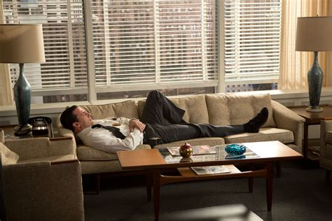 mad men furniture new exhibition turns the mad men writers room into art