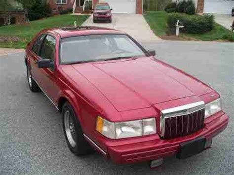 how make cars 1992 lincoln mark vii seat position control sell used 1992 lincoln mark vii lsc special edition 2door 5 0l ho garnet red mocha leather in