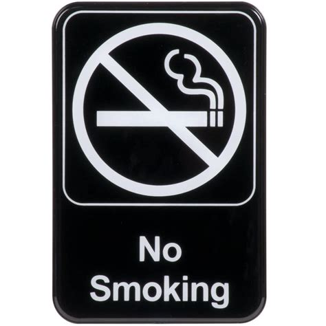 no smoking sign iq no smoking sign black and white 9 quot x 6 quot