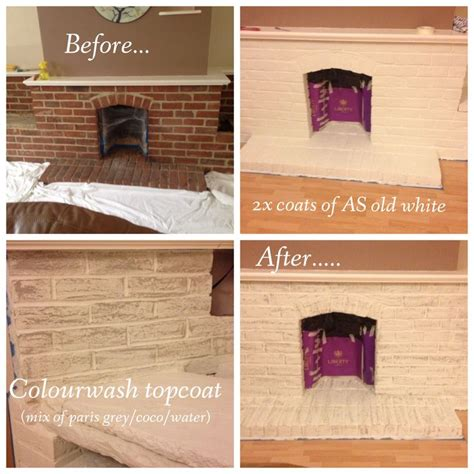 what color should i paint my brick fireplace brick fireplace makeover with sloan chalk paint