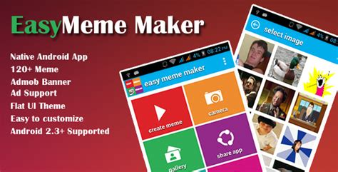 Easy Meme App - easy meme maker app theme for u