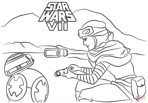 lego bb 8 coloring page rey and bb 8 coloring page free printable coloring pages
