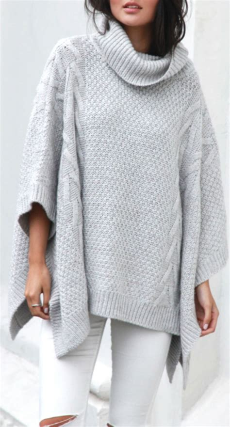 knit poncho cable knit poncho knitted ponchos in 2019