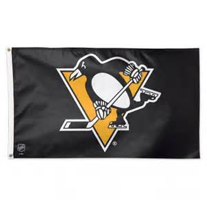 pittsburgh penguins colors pittsburgh penguins flag 3x5 uncommon usa nhl flags