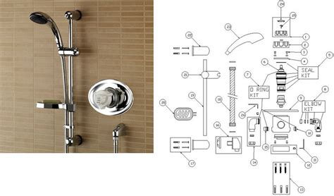 Bristan Bath Shower Mixer Thermostatic bristan pisa thermostatic recessed with adjustable riser