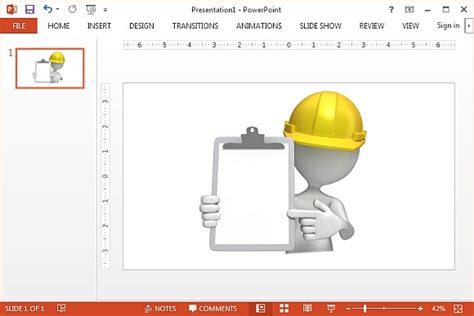 Best Animated Construction Powerpoint Templates Construction Ppt Templates Free