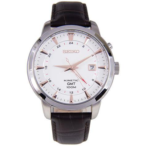 Seiko Kinetic GMT 100m Watch SUN035P1 SUN035P