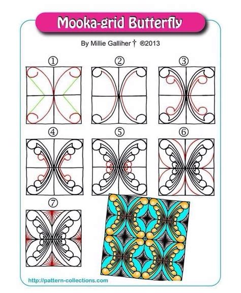 zentangle pattern ibex 759 best zentangle patterns 4 images on pinterest