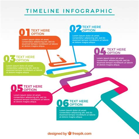 graphics template infographic template design vector free