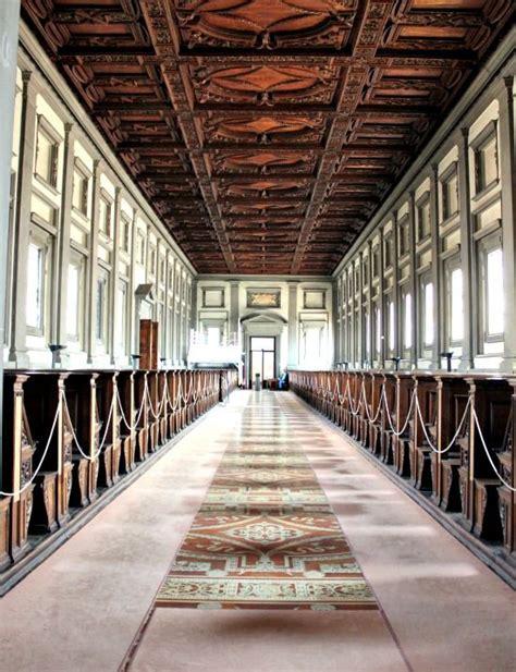 librerie firenze sud architettura rinascimentale biblioteca medicea