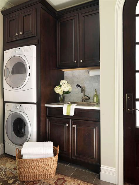 stackable washer  dryer design ideas