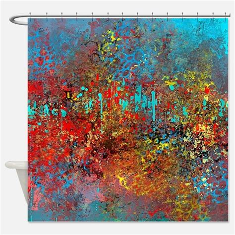 yellow and turquoise curtains turquoise red yellow shower curtains turquoise red