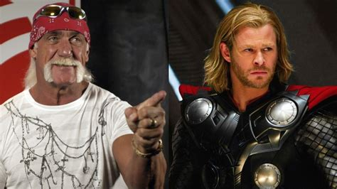 actor who plays hulk in the thor and avengers series of movies what if thor played hulk hogan chris hemsworth