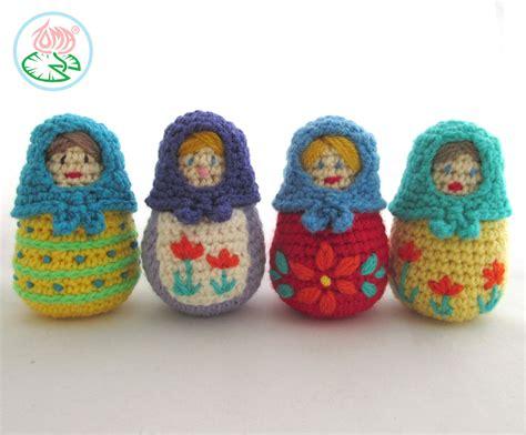 russian doll knitting pattern amigirumi matryoshka russian nesting doll pdf pattern