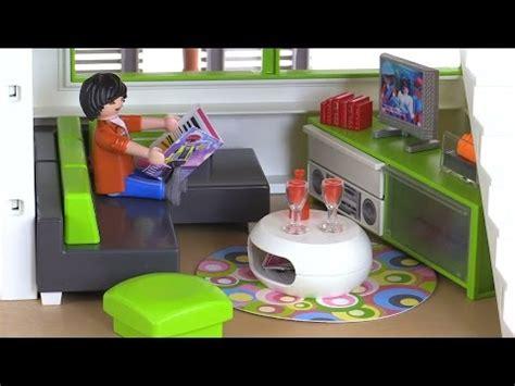 playmobil living room playmobil modern living room review set 5584 youtube