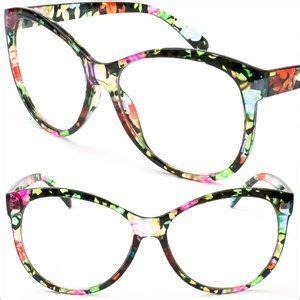 colorful glasses flowered prada eyeglass frames frame flower colorful