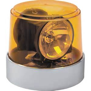 Rotating Light wolo power beam halogen rotating warning light