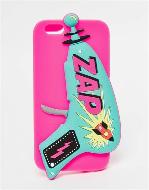 skinnydip zap light up silicone iphone 6 multi cool graphic phone cases and covers