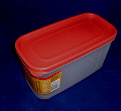 rubbermaid kitchen storage containers box of 6 rubbermaid 1776471 10 cup modular food storage canisters new ebay