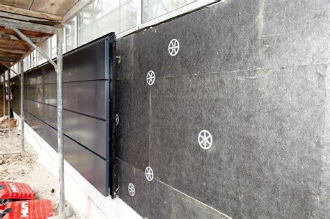 dämmen mit steinwolle steinwolle d 228 mmplatten f 252 r hinterl 252 ftete fassaden