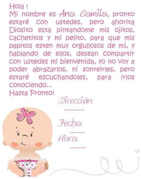 invitaciones modernas para imprimir oraciones pensamientos y poemas tarjetas baby shower baby shower nina copy jpg salome