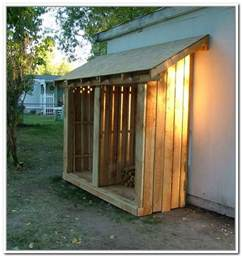 firewood storage shed plans a simple solution home