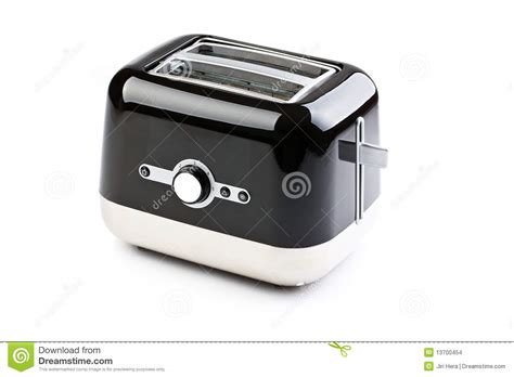 Black And White Toaster Black Toaster Stock Images Image 13700454