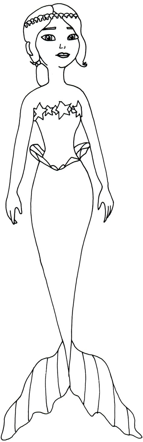 sofia the first coloring pages mermaid cora coloringstar