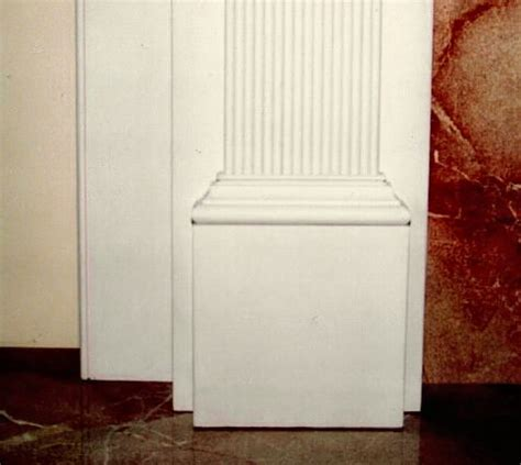 Fireplace Plinth Block by Fireplace Mantles