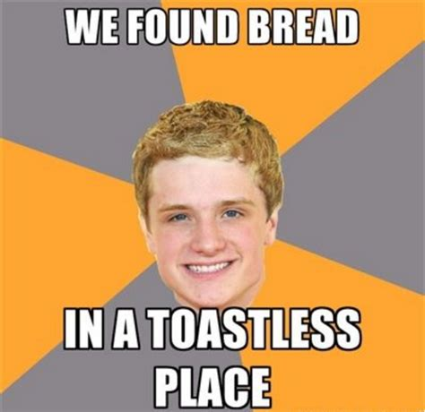 Hunger Game Memes - advice peeta know your meme