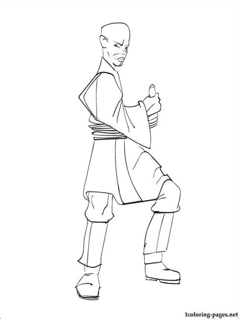 star wars mace windu coloring page coloring pages