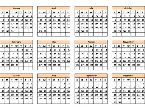 any year calendar template any year calendar template calendar template 2016