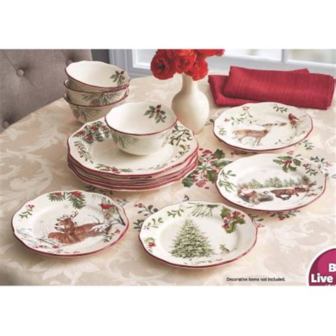 better homes and gardens heritage 12 dinnerware set