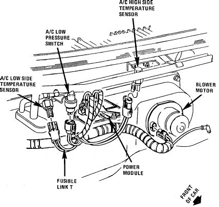 2003 buick lesabre blower motor resistor location the blower motor on my 1988 buick reatta will not turn even when i removed the key from the