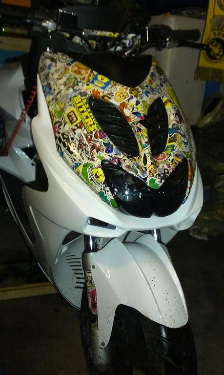 Yamaha Aerox Stickerbomb by Aerox Mit Normaler Front Und Dmp Untere Front