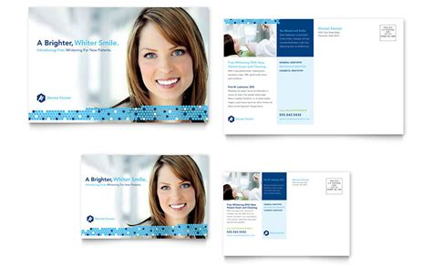 Dentistry Dental Office Postcard Template Word Publisher Dental Office Templates