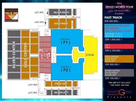 Pacific Mall Floor Plan by Ready For 2ne1 World Tour In Indonesia Jadwal Event