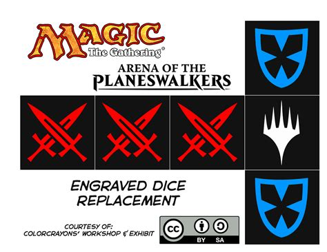 Arena Of The Planeswalkers Card Templates by Colorcrayons Workshop Exhibit Arena Of The