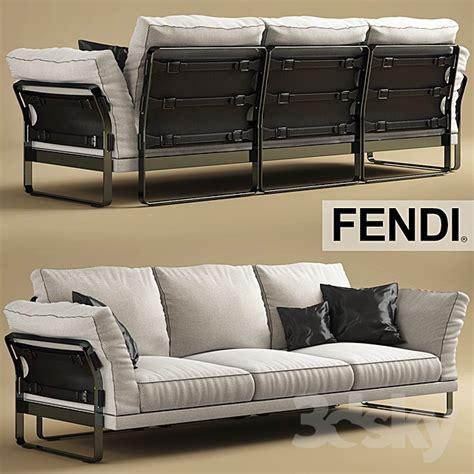 casa sofa 3d models sofa sofa and chair fendi casa metropolitan