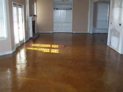 Etch Garage Floor by Acid Etching Concrete Stain Acid Staining Concrete