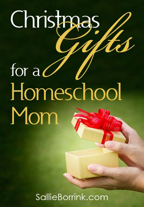 christmas gifts for a homeschool mom sallieborrink com