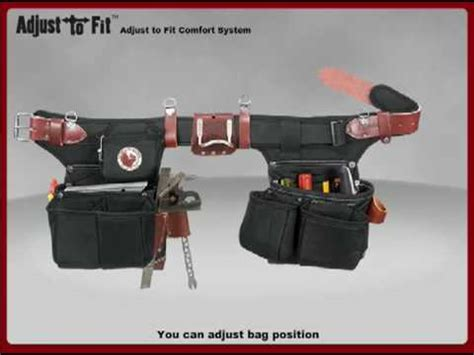 most comfortable tool belt adjust to fit comfort series tool belt youtube