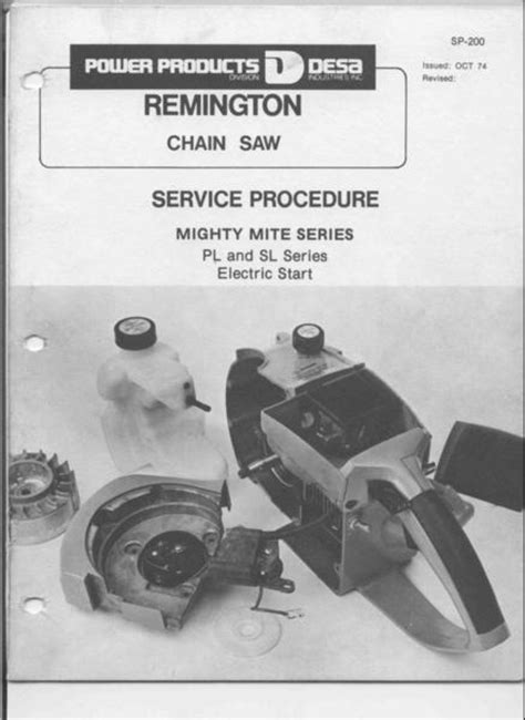 remington chainsaw workshop downloadable  service