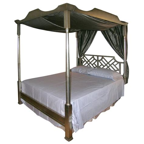 canopy beds queen size elegant leafed queen size canopy bed at 1stdibs