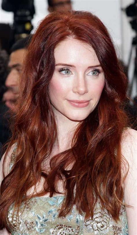 red hair 40s 40 auburn hair color long hairstyles 2015 hair