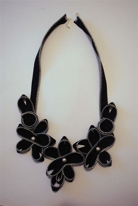 I Found A Zipper Necklace For by 1000 Images About Zipper Creations On
