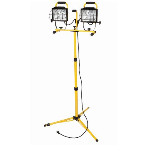work light shop utilitech 1000 watt halogen stand work light at lowes com