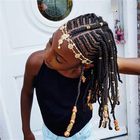 hairstyles with braids and beads braids and beads natural hairstyles for girls braid