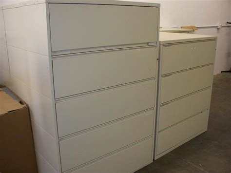 Herman Miller File Cabinets by Used Office File Cabinets Herman Miller 5 Drawer Lateral